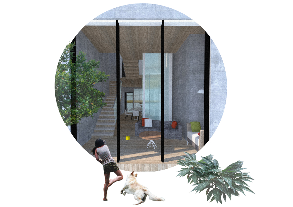 Interstitial House